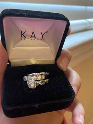 Wedding ring set with extra ring for Sale in Nashville, TN