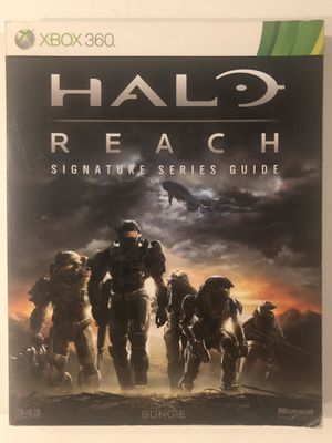 Halo Reach Guide Book for Sale in Irvine, CA
