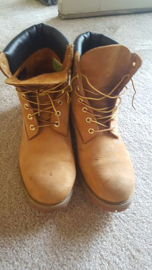 Wheat high top timberlands male size 11.5 for Sale in Reston, VA