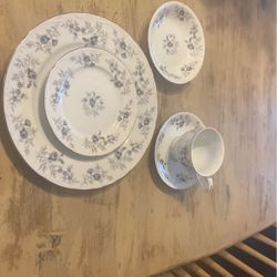 Vintage Baroque Blue By Danielle Dine China for Sale in Colleyville,  TX