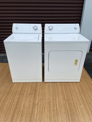 Whirlpool commercial Heavy Duty Super Capacity Washer/ Dryer Matching Set $375 OBO for Sale in Hudson, FL