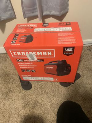 Craftsman generator brand new with recipe for Sale in Gastonia, NC