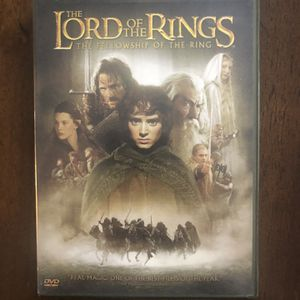 LORD IF THE RINGS 2 DVD MOVIE for Sale in Kirkland, WA