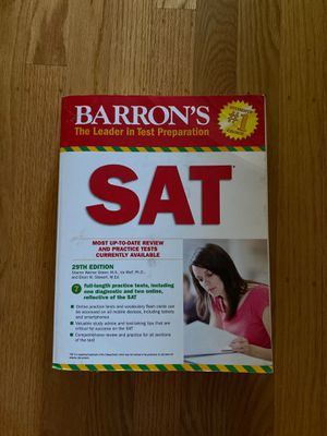 Barron's SAT Test Prep for Sale in San Leandro, CA