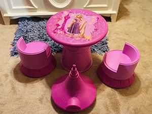 Disney Tangled Transforming Castle Table and Chair Set for Sale in Cumming, GA