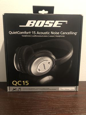 Bose QC15 Quiet Comfort noise cancelling headphones for Sale in Chicago, IL