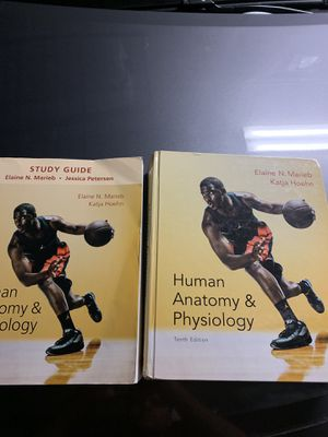 Human anatomy and physiology Text book and study guide for Sale in Bellevue, WA