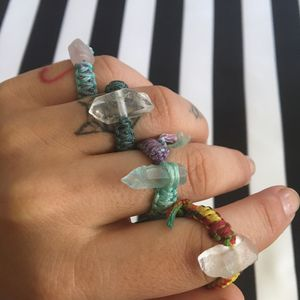 Macrame knotted Quartz Ring for Sale in Altadena, CA