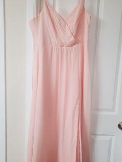 Blush Pink Bridesmaid Dress for Sale in Auburn,  WA