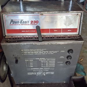 Wards Powr-Kraft 230 Continuous Amperage Control Stick Welder for Sale in Austin, TX