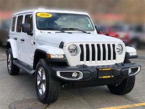 2020 Jeep Wrangler Unlimited for Sale in Kirkland, WA