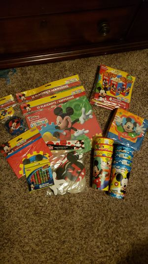 Mickey mouse clubhouse party supplies for Sale in Everett, WA