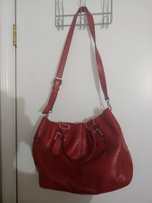 Red Michael Kors tote for Sale in CHESAPEAK BCH, MD