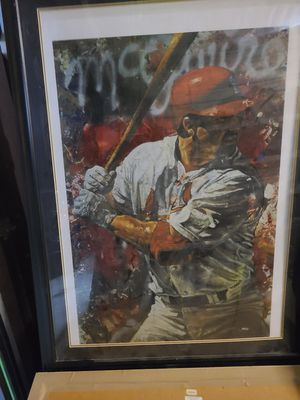 Mark Mcgwire Painting limited edition for Sale in Lake Forest, CA