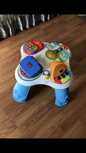 Toddler learning table fisher price for Sale in Arlington, TX