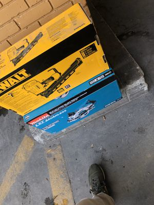 Nailgun Dewalt NEW for Framing Carpentry for Sale in Los Angeles, CA