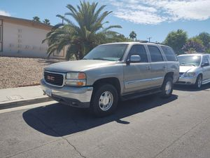 Parts ONLY off 01 GMC Yukon, Rebuilt Trans and Transfer Case, Good Body, Interior, and Lots More. for Sale in Las Vegas, NV