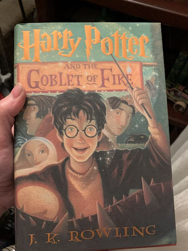 Harry Potter goblet and fire/and Harry Potter and half of blood princess