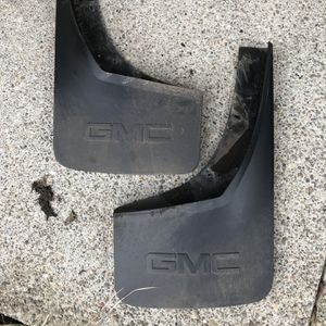 2019 GMC OEM Rear Mudflaps for Sale in Damascus, OR