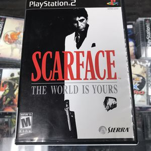 Scarface Ps2 $60 Gamehogs 11am-7pm for Sale in Los Angeles, CA