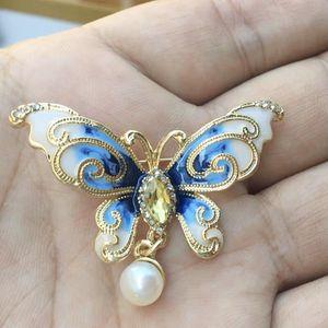Real pearl elegant butterfly pin/brooch for Sale in Eldersburg, MD