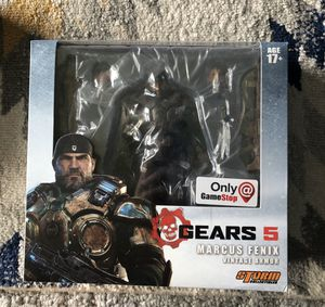 Storm Collectibles Gears 5 Marcus Fenix Action figure for Sale in Seattle, WA
