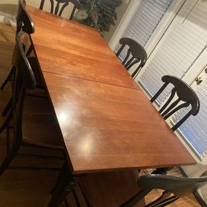 Formal Dining Room Table, Chairs, Bar Height Chairs for Sale in Raleigh, NC