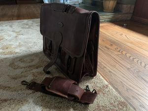 HLC Handmade Original Leather Shoulder Bag Messenger Satchel Laptop Handbag for Sale in Sylmar, CA