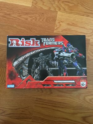 Risk Transformer board game for Sale in Boston, MA