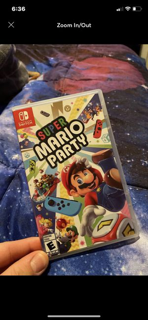 Super mario party for switch for Sale in Happy Valley, OR