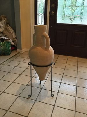 Vase with floor stand for Sale in Dayton, MD