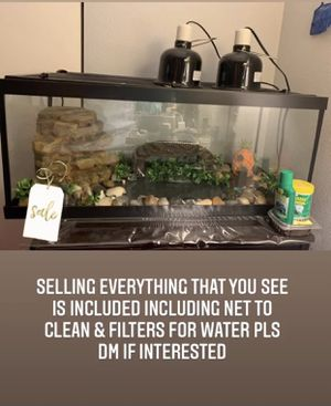 Reptile tank for Sale in Palm Desert, CA