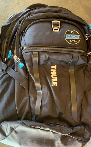 BRAND NEW! THULE Sweden backpack! With sunglasses case, 4 pockets, and can fit a laptop! Has a bottle opener attached! for Sale in Phoenix, AZ