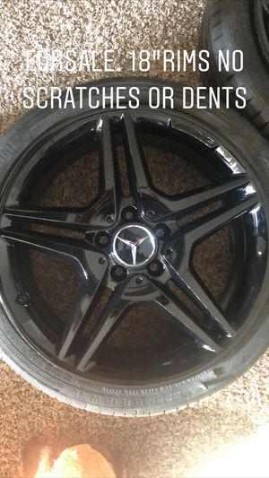 "Mercedes 18"" wheels. Rims for Sale in Gaithersburg, MD"