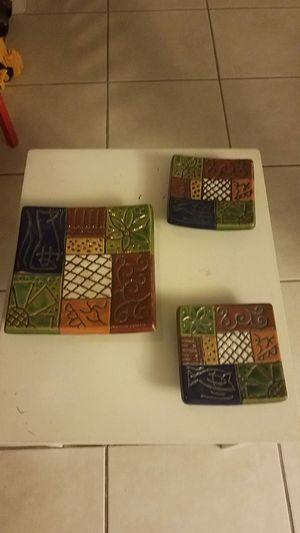 3 beautiful pcs. Decorative center table for Sale in Plantation, FL
