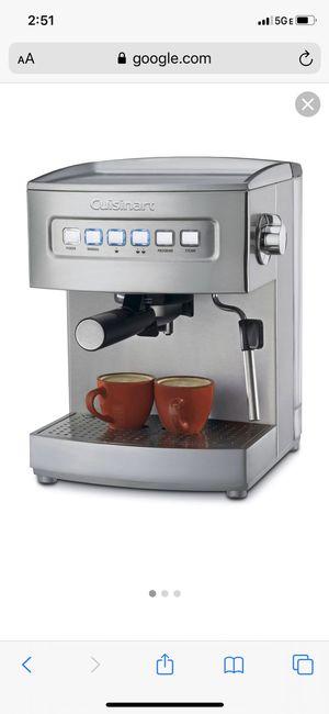 Cuisinart EM-200 Espresso Machine - Stainless Steel for Sale in Miami, FL