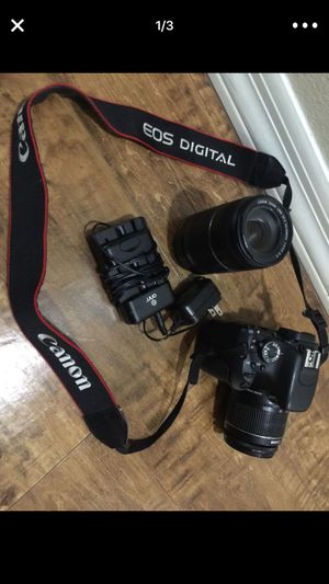 canon 600 with 2 lenses for Sale in Phoenix, AZ