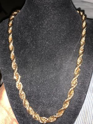18kt Gold Plated Chain (Please Read Description) for Sale in Seattle, WA