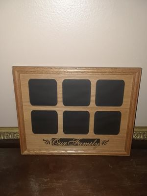"""Beautiful """" Our Family """" wooden picture frame for Sale in Melbourne Village, FL"""