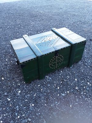 Old military foot lockers/ Coffee Table/ Toy Table for Sale in Millsboro, DE