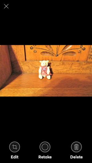 RUSS Berrie & Co. mini porcelain white lamb figurine for Sale in Lynchburg, VA