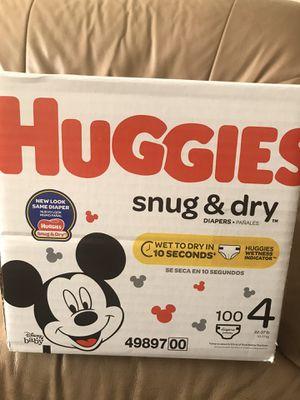 Huggies Diaper size 4 for Sale in San Jose, CA