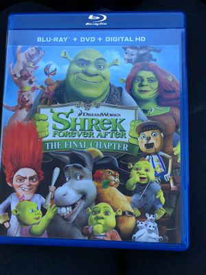 Shrek Forever After The Final Chapter Blu-Ray + DVD for Sale in Los Angeles, CA