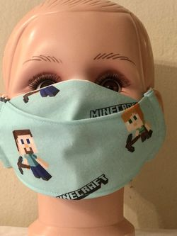 Minecraft Kid Size 3D Face Mask for Sale in San Jose,  CA