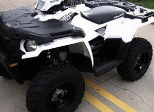 Price$800 Firm! 2O14 Polaris Sportsman edition four wheeler!! for Sale in Wichita, KS