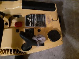 mcculloch chainsaw for Sale in Springfield, OR
