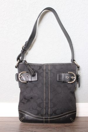 Coach Canvas Leather Soho Bag in Black for Sale in Claremont, CA