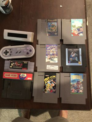 Vintage Nintendo Video Games and Gaming Controls for Sale in Raleigh, NC