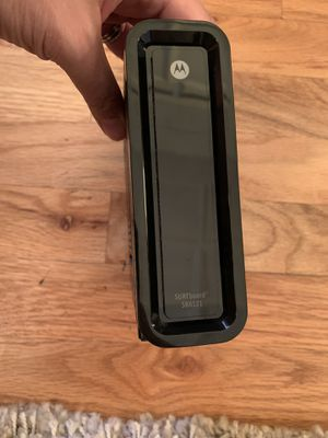 Motorola surf board modem for Sale in Chicago, IL