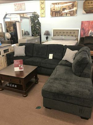 """☑ Special for Black Friday ‼ SPECIAL] Altari Slate LAF Sectional Dimensions: 111"""" x 90"""" 8 SAME DAY DELIVERY for Sale in Jessup, MD"""